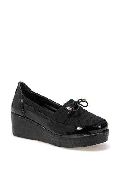 STS001-19S Siyah Kadın Comfort Ayakkabı 100352245