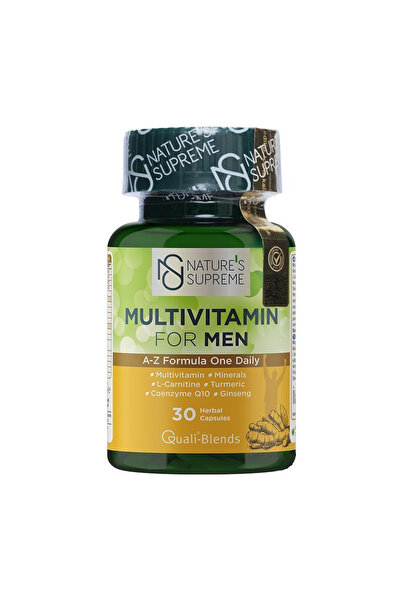 Multivitamin For Men 30 Kapsül 8681763380053