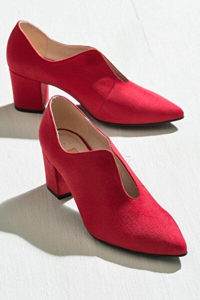 MAESTOSSO Kırmızı Kadın Ayakkabı