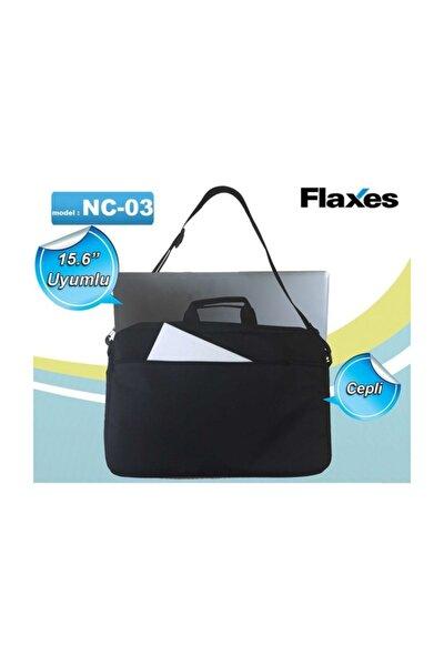 15.6 Siyah İki Bölmeli Notebook Çantası NC-03