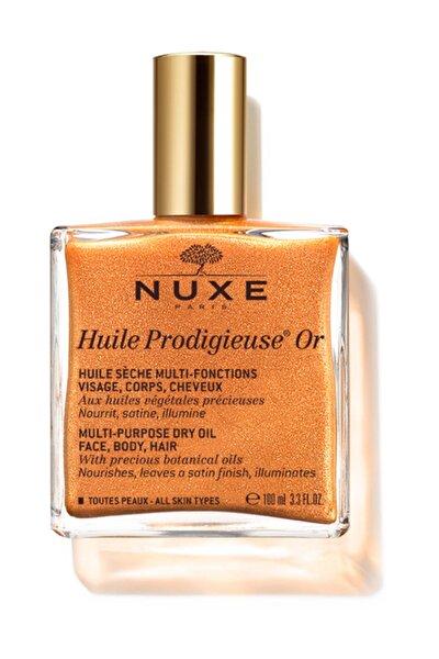 Huile Prodigieuse Or Altın Parıltılı Kuru Yağ 100 ml 9900000017182