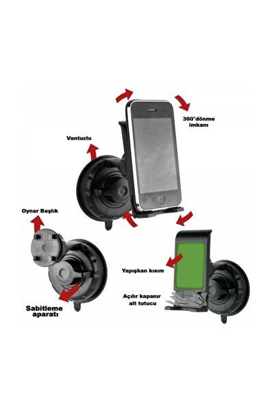 Emniyetli Yapışkanlı Telefon Tutucu