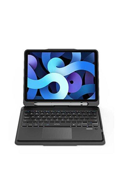 Ipad 10.2 Uyumlu Klavye & Trackpad Kablosuz Bluetooth Ultra Thin Magic Keyboard Smart Akıllı Kılıf