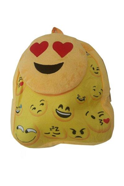 Emoji Peluş Çanta Sarı