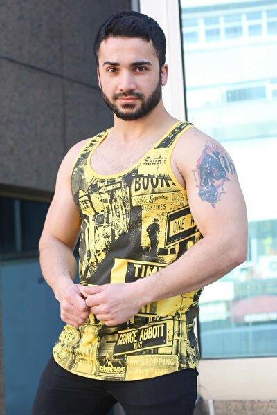 Erkek Sarı Atlet - 3088