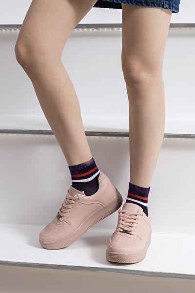 Pembe Kadın Sneaker V2005.PD1