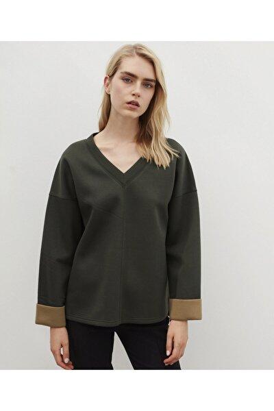 Scuba Kumaş Sweatshirt