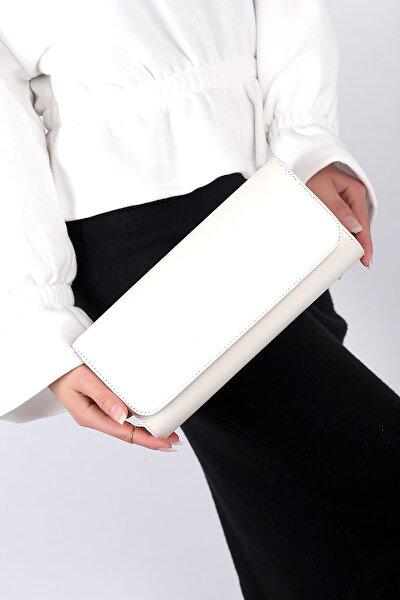 Beyaz Kadın El Çantası C0112-18