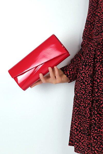 Kırmızı Cilt Kadın El Çantası C0507-18