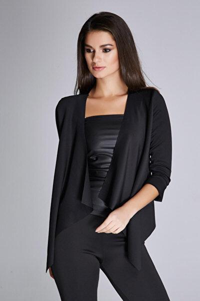 Kadın Siyah Ceket 15L4472-L