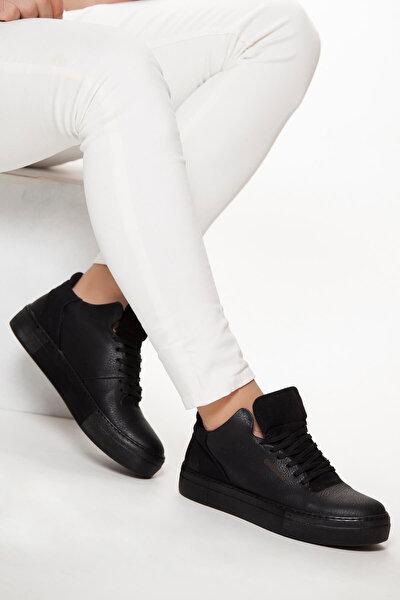 Siyah Erkek Sneaker  CH004SST