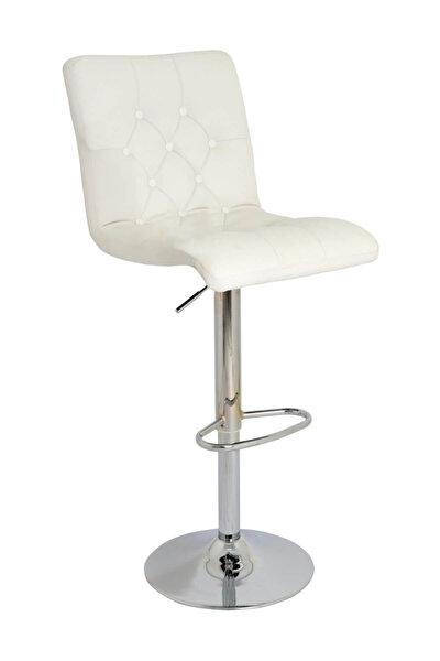 Boombar Helen Bar Sandalyesi Beyaz