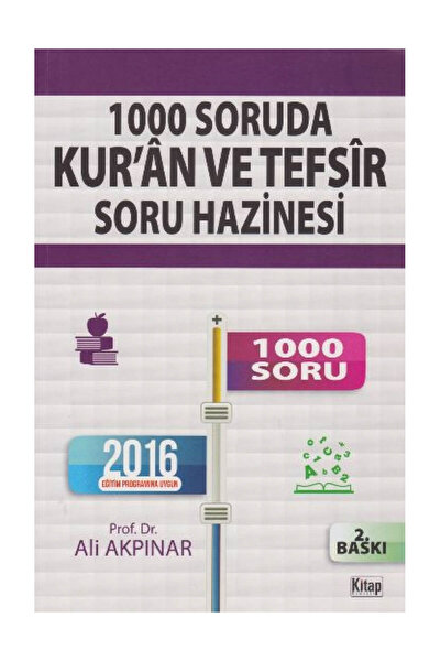 1000 Soruda Kur'an ve Tefsir Soru Hazinesi