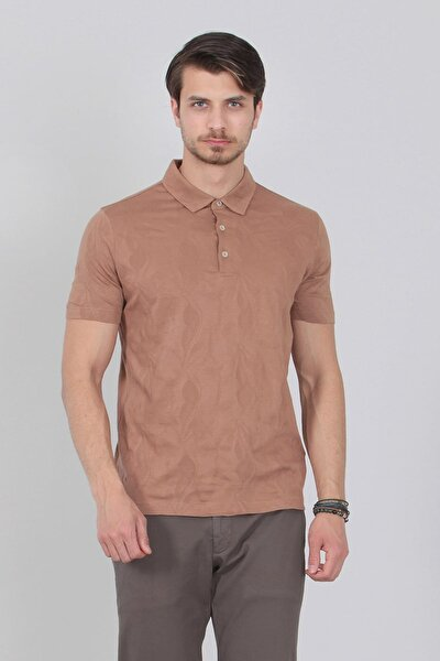 Jakarlı Örme T-Shirt - RP10106539