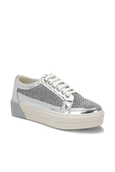 19S-100 Gümüş Kadın Sneaker Ayakkabı 100372411