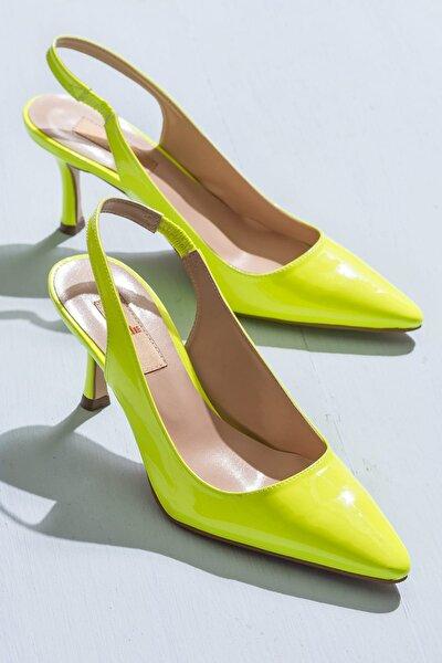 MYELENE Sarı Fosfor Kadın Ayakkabı