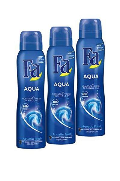 Aqua Deodorant 150 ml x 3 Adet