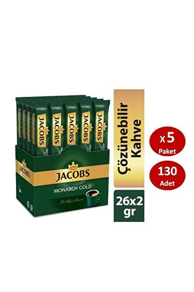 Monarch Gold Çözünebilir Stick Kahve 2 gr x 26 Adet x 5 Paket