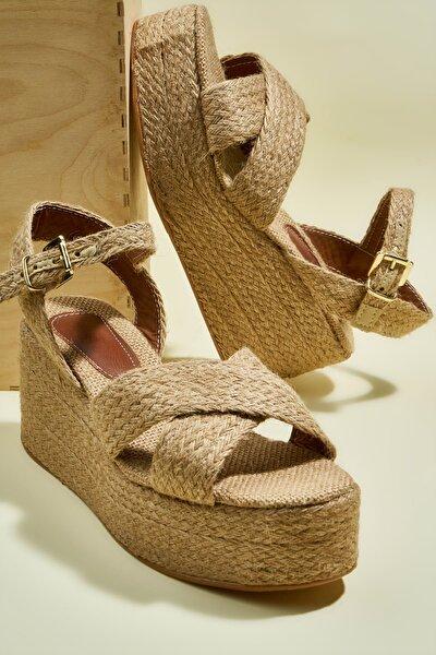 Natural Kadın Sandalet H06930040