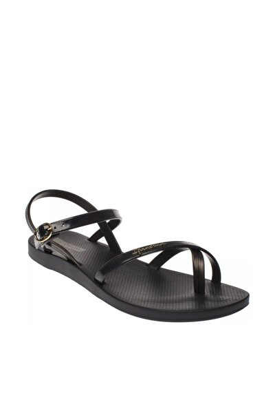 p0207 Fashion Vii Fem Siyah Kadın Sandalet