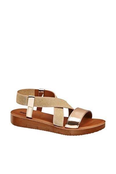 Deichmann Kadın Roze Altın Sandalet