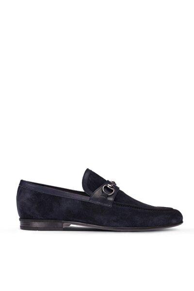 Lacivert Erkek Loafer Ayakkabı 01712MLCVC01