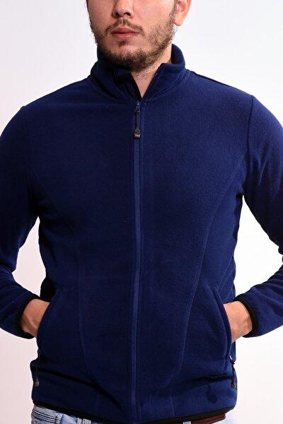 Ceket&tek Üst Kadın / Kız Iza Sweat Fz Pıle S3440 Blu Csm