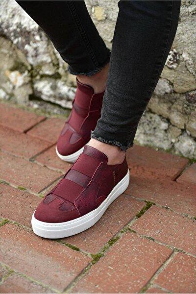 Bordo Erkek Sneaker CH033