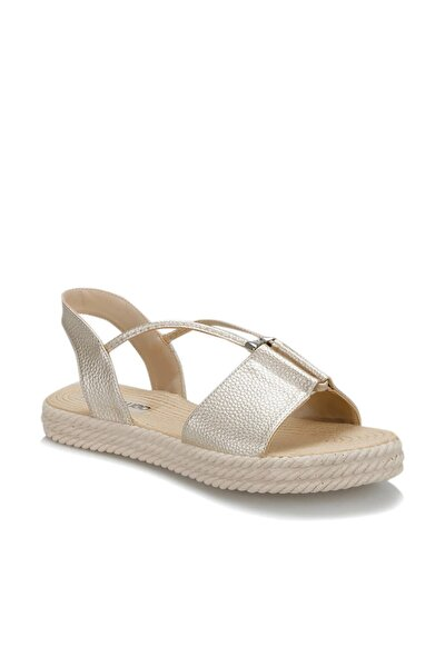 19S-463 Altın Kadın Sandalet 100381387