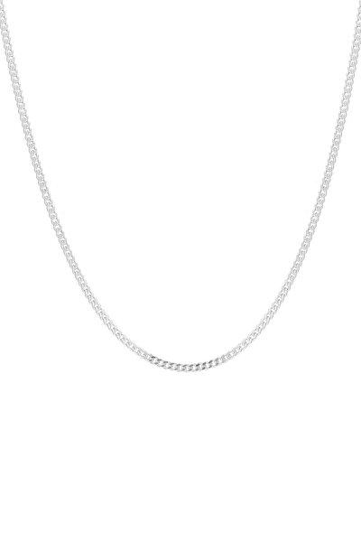 Gümüş Düz Zincir ES0124