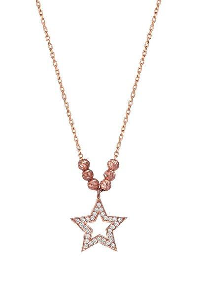 Yıldız Gümüş Kolye e5504t