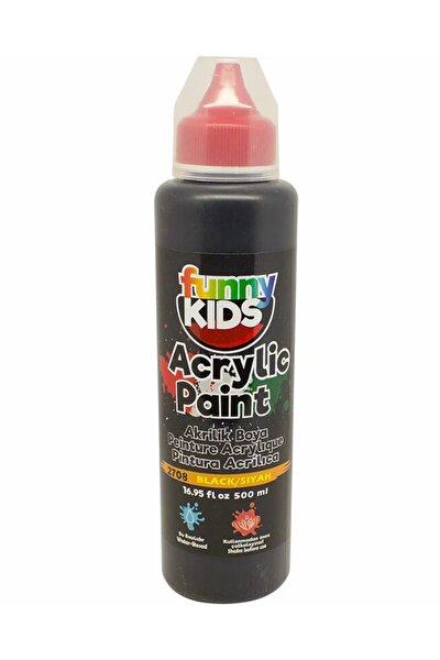 Funny Kids Akrilik Boya 500ml - 2708 Siyah