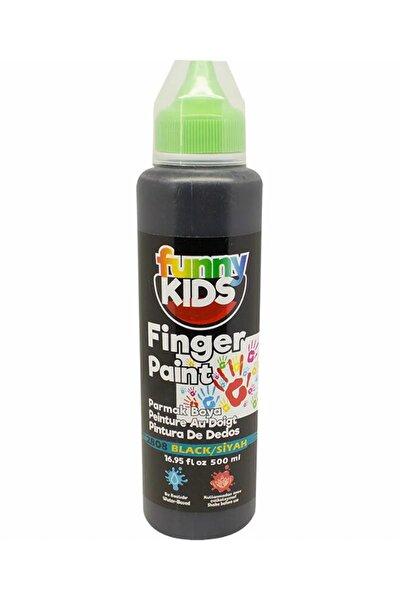 Funny Kids Parmak Boyası 500ml - 2808 Siyah