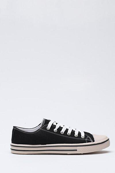 Siyah Krem Kadın Ayakkabı 9999-19-100165