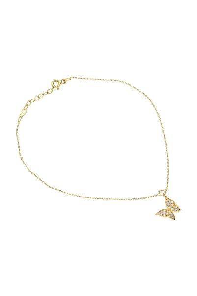 Kadın Altın Kelebek Halhal VK0670