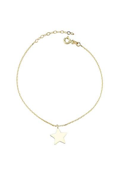 Kadın Altın Yıldız Halhal CM0539