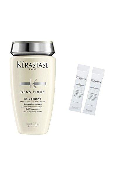Yoğunlaştırıcı Şampuan - Densifique Bain Densite 250 ml + Saç Banyosu Öncesi Kil Maskesi 2 x 10 ml