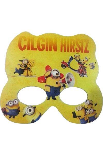 6 Adet Minion Rush Karton Kağıt Maske