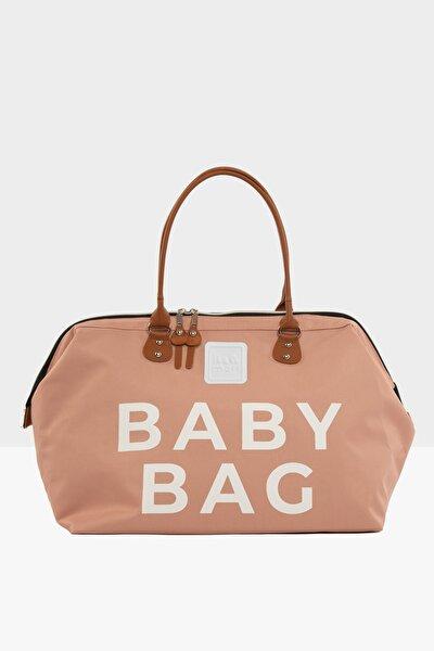 Pudra Baby Bag Baskılı Bebek Bakım Çantası M000002169