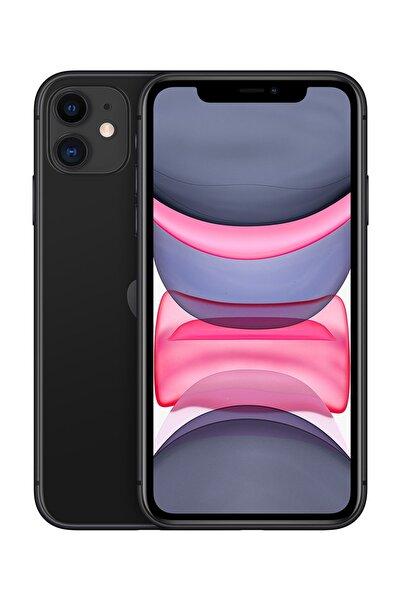 iPhone 11 64GB Siyah Cep Telefonu (Apple Türkiye Garantili) Aksesuarlı Kutu