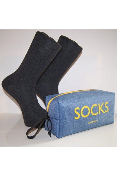 Çanta Hediyeli 12 Lı Çorap