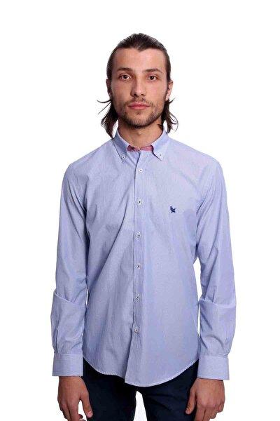 Uzun Kollu Erkek Gömlek Açık Mavi 1912012