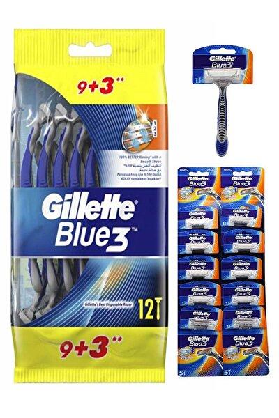 Blue3 Kullan At Tıraş Bıçağı 12'lı