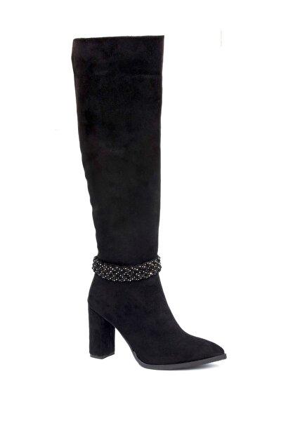 Siyah Kadın Çizme GDKPSLRYH20K9800000