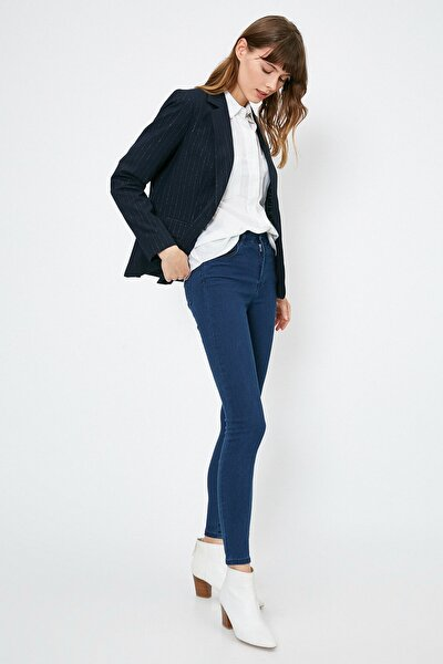 Kadın Mavi Pantolon 0YAK47644DD