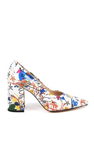 Kadın Beyaz Ayakkabı Kuum 9K-11659-10009