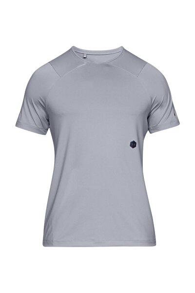 Erkek Spor T-Shirt - UA HG Rush Fitted SS - 1327641-011