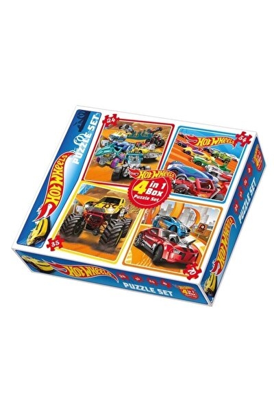 Hot Wheels 4 In 1 Puzzle