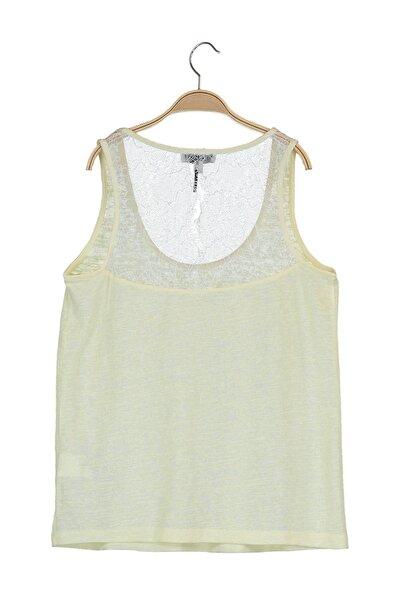 Kadın Sarı Bluz IS1190070364