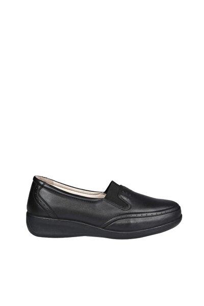 Siyah Kadın Klasik Ayakkabı 578351 Ortopedik
